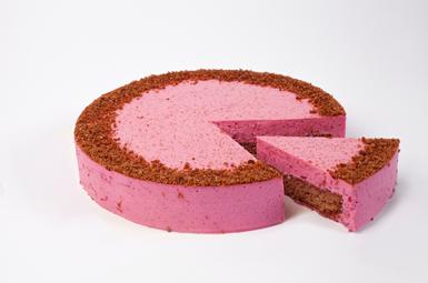 """Deserta torte """"Bietīte"""" 1,25 kg (sagriezta, 10gab.)"""