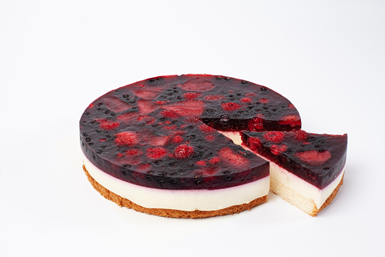 """Deserta torte """"Odziņa"""" 1,25 kg (sagriezta, 10gab.)"""
