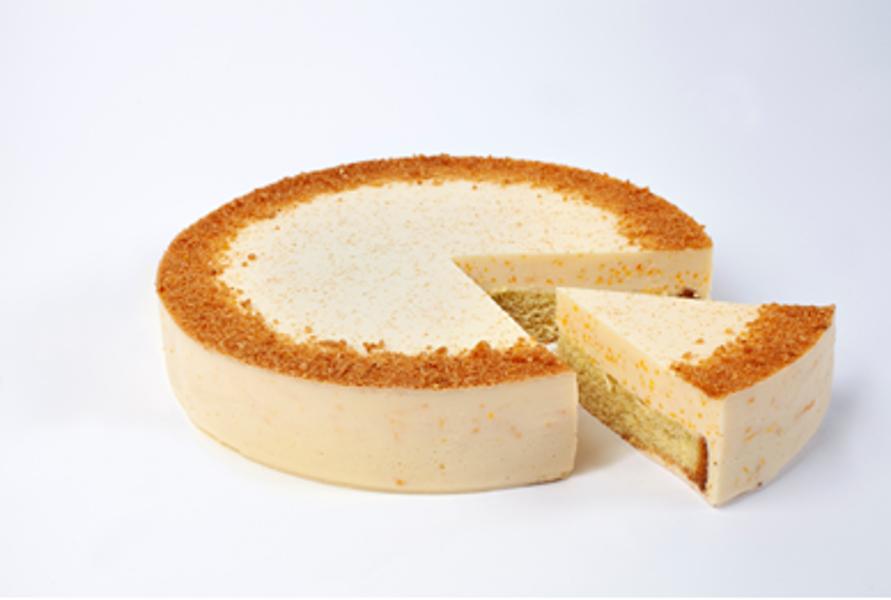 """Deserta torte """"Burkāniņš"""" 1,25 kg (sagriezta, 10gab.)"""