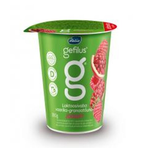 Valio Gefilus jogurts ar avenēm un granātāboliem, 380g